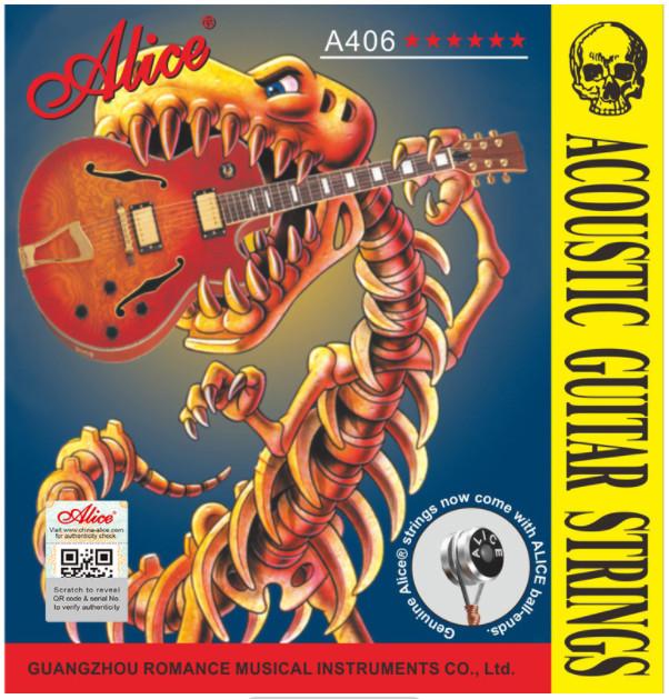 Alice A406P-L Acoustic Guitar Strings, Light