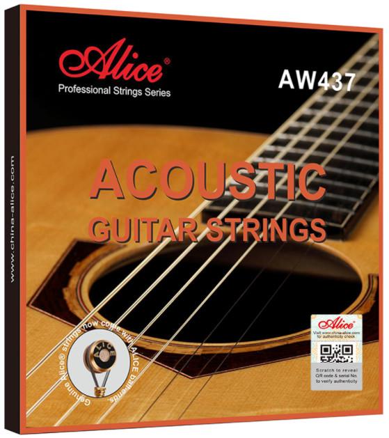 Alice AWR47-L Acoustic Guitar Strings, Light