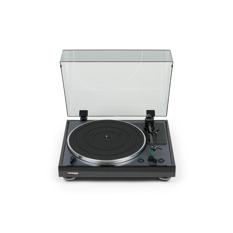 Thorens TD 102 A Automatický gramofón Čierna lesklá