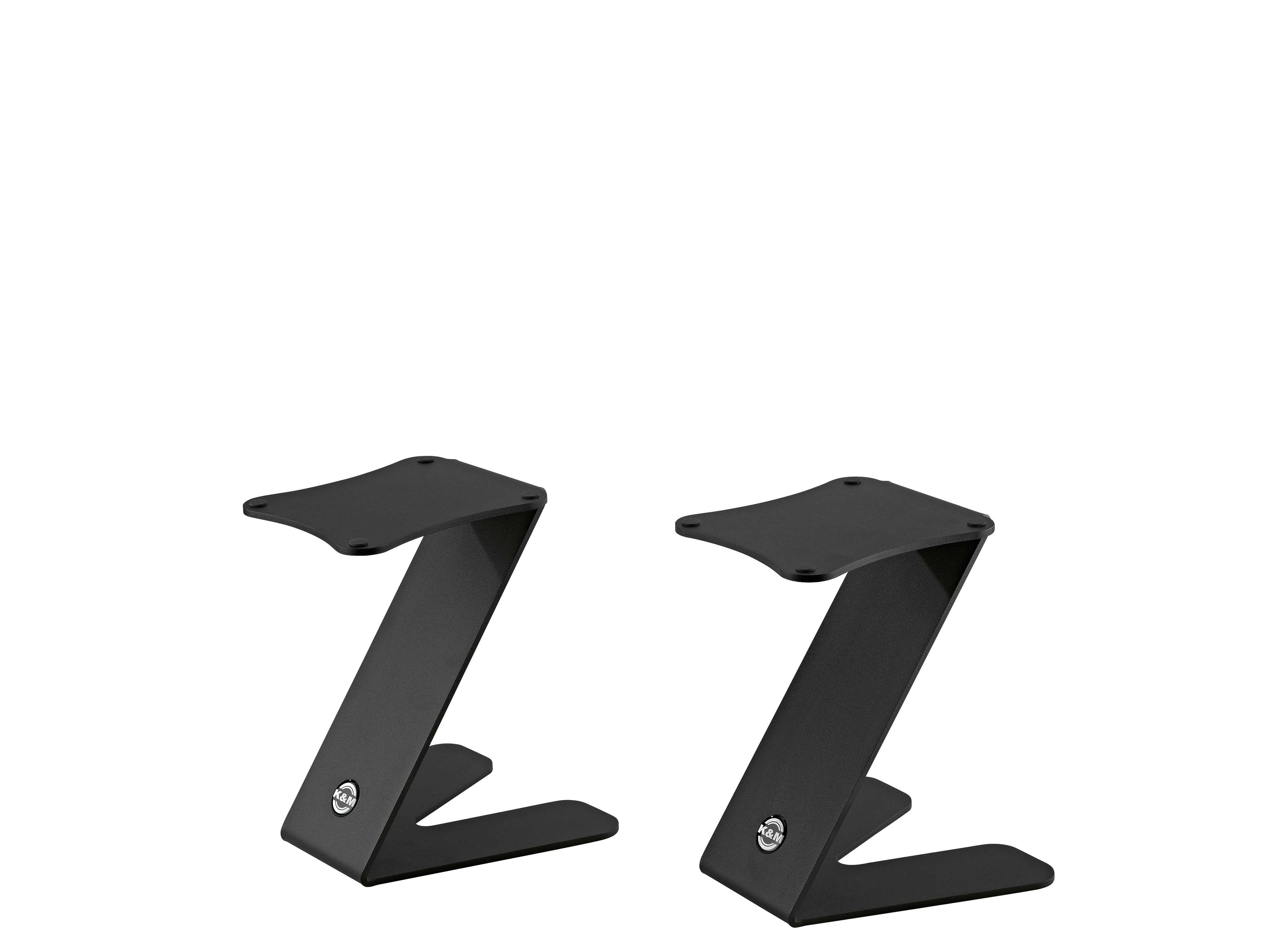 K&M Table monitor stand Z-Stand structured Black