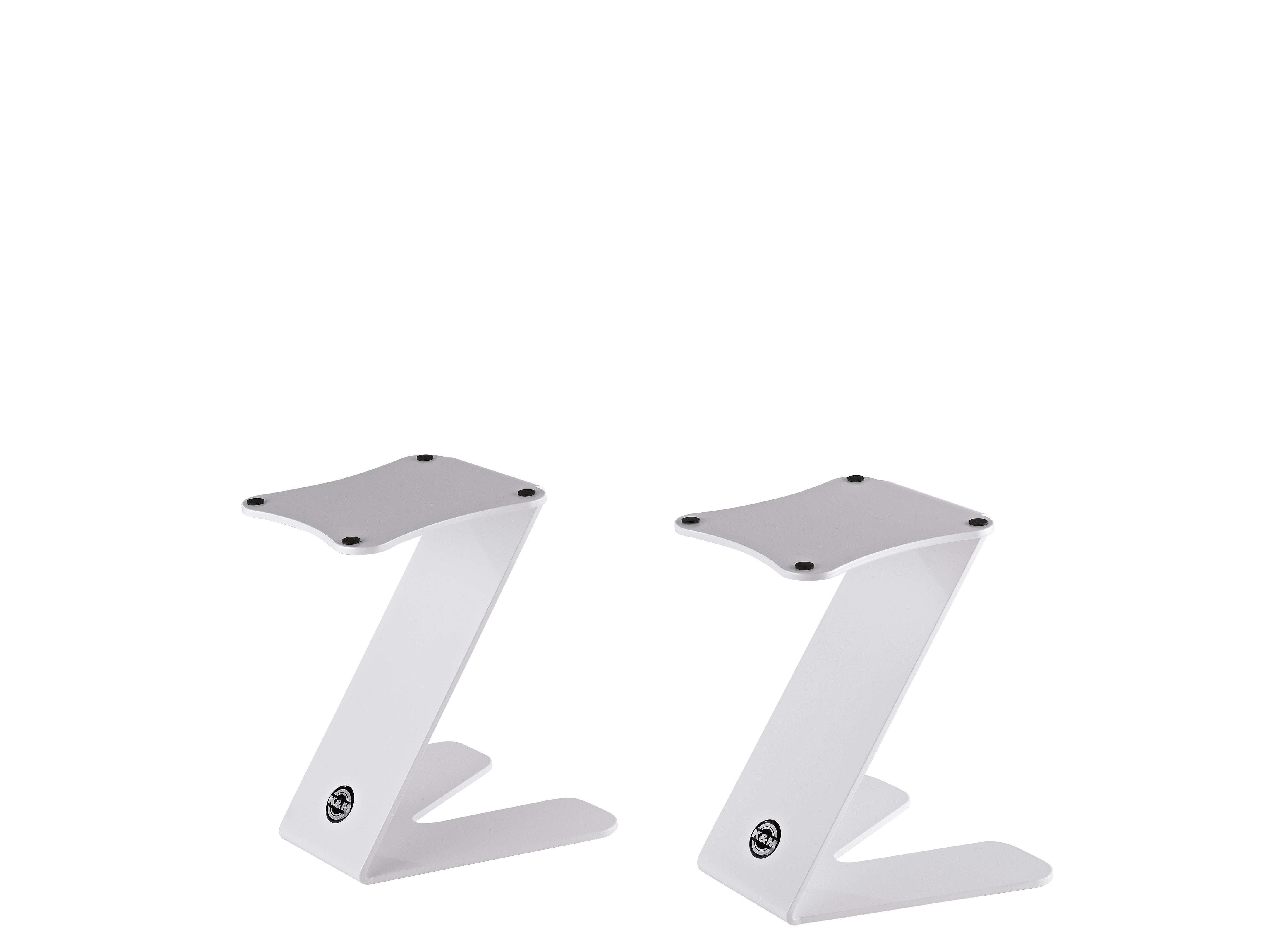 K&M Table monitor stand Z-Stand Pure white