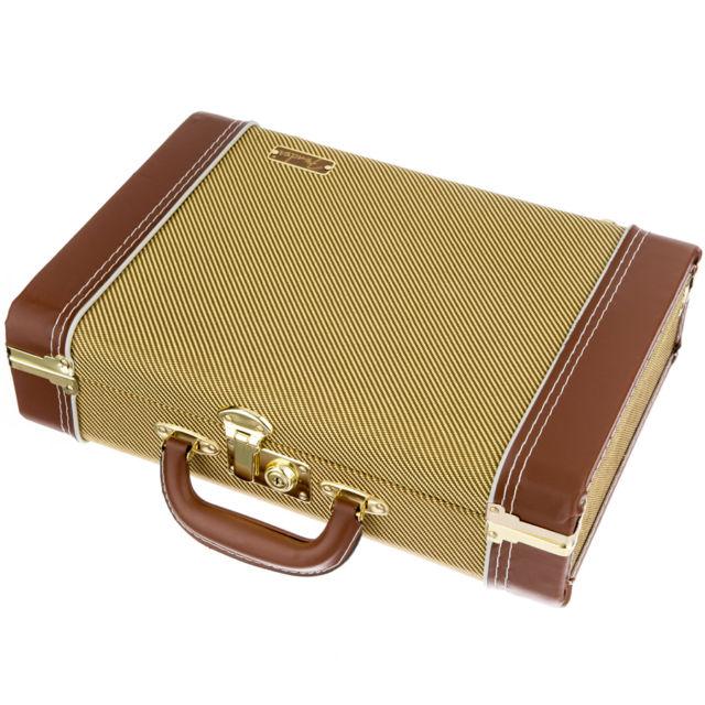 "Fender ""Mississippi Sax"" Harmonica Case, Tweed"