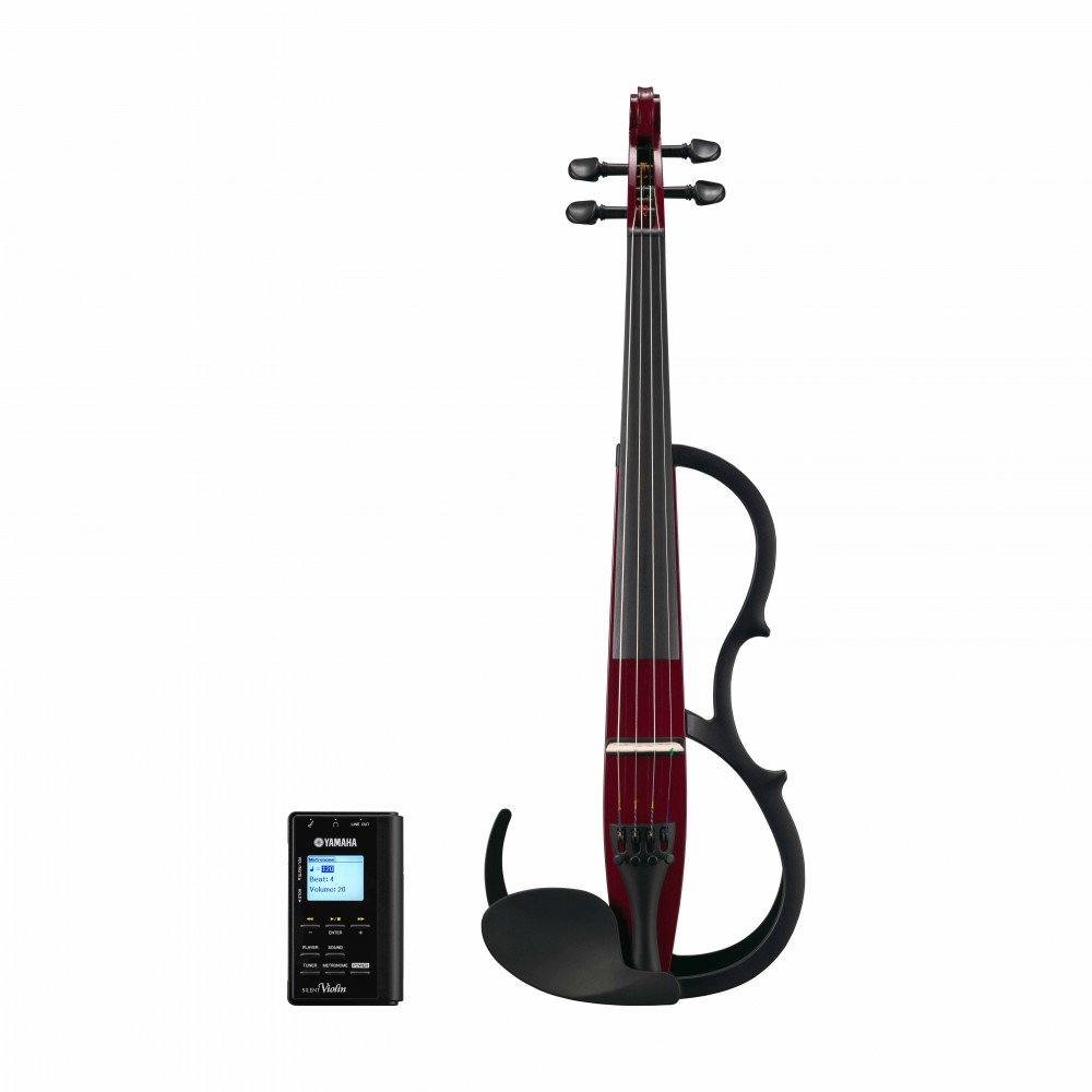 YAMAHA SV-150 Silent Violin Wine Red