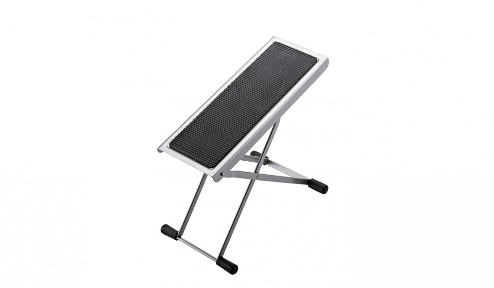 K&M 14670 Footrest nickel-colored