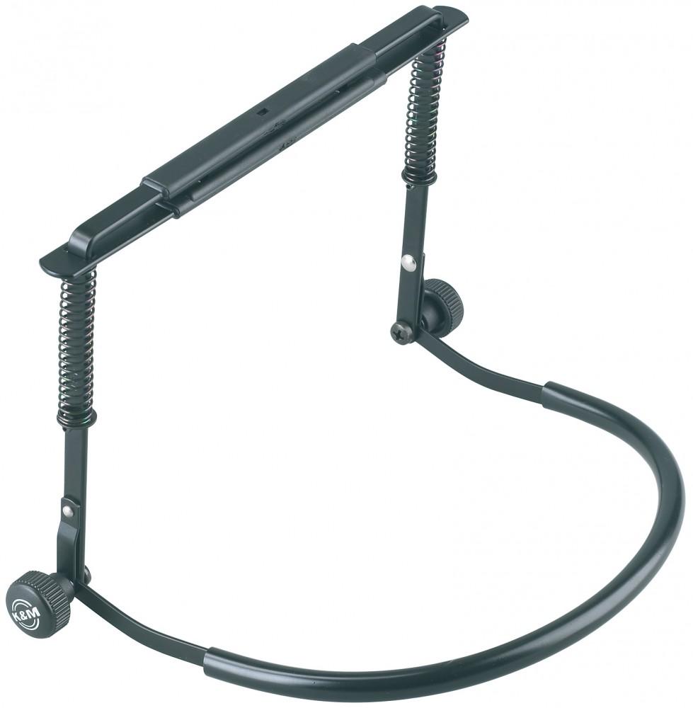 K&M 16416 Harmonica holder black