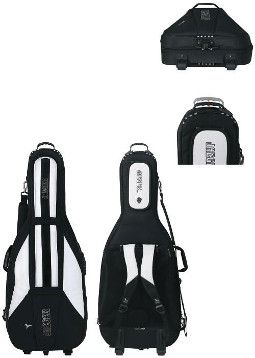 GEWA Cello Gig-Bag JAEGER 4/4 black/anthracite