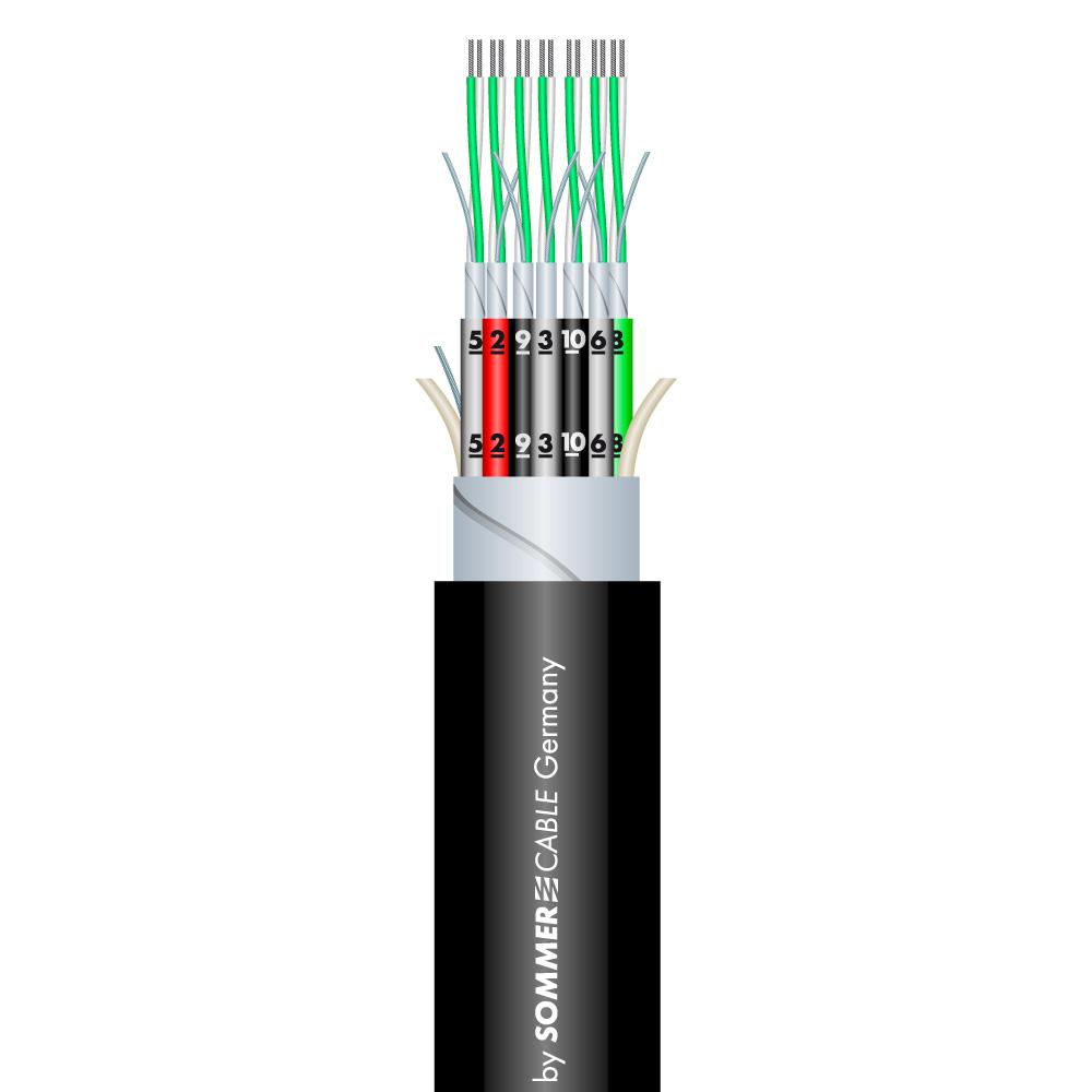 Sommer Cable SC-MISTRAL MCF-32 Studiom./Black
