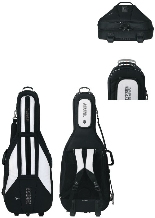 GEWA Cello Gig-Bag JAEGER 3/4 black/anthracite