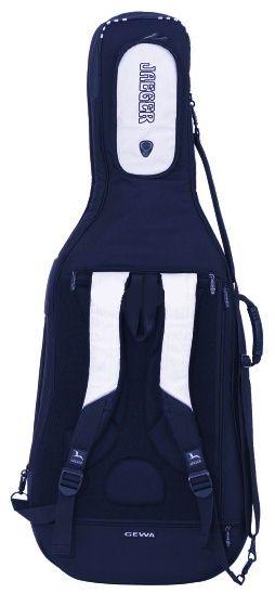 GEWA Cello Gig-Bag JAEGER 1/2 blue/anthracite