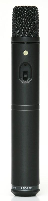 Rode M3 Profi kondensátor mic. 9V bat.