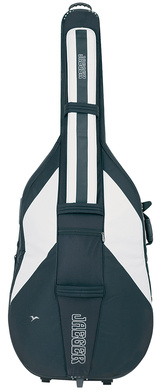 GEWA Double bass gig-bag JAEGER ROLLY 3/4 blue/anthracite