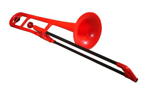 pBone Trombone Red