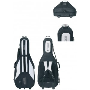 GEWA Cello Gig-Bag JAEGER ROLLY 3/4 black/anthracite