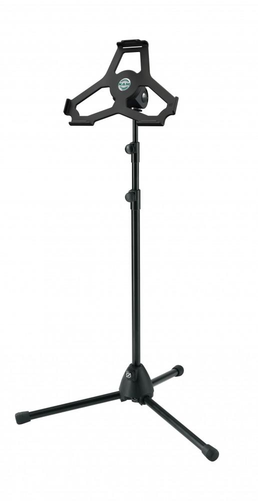 K&M 19774 iPad Air stand black