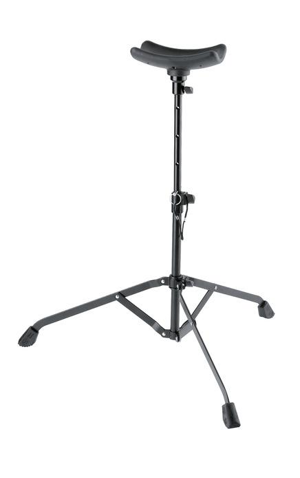 K&M 14950 Tuba performer stand black