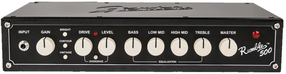 Fender Rumble 500 Head (V3), 230V EU, Metallic Black