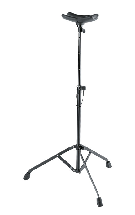 K&M 14951 Tuba performer stand black