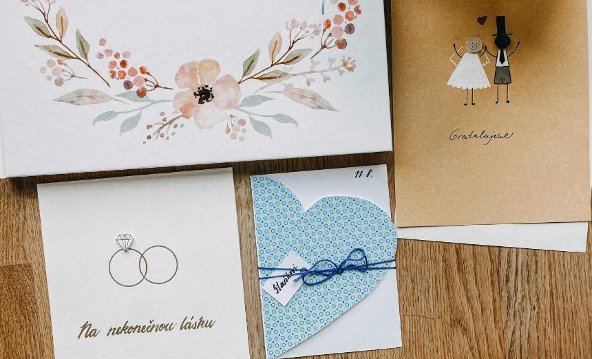 DIY: Vytvořte novomanželům originální svatební přání