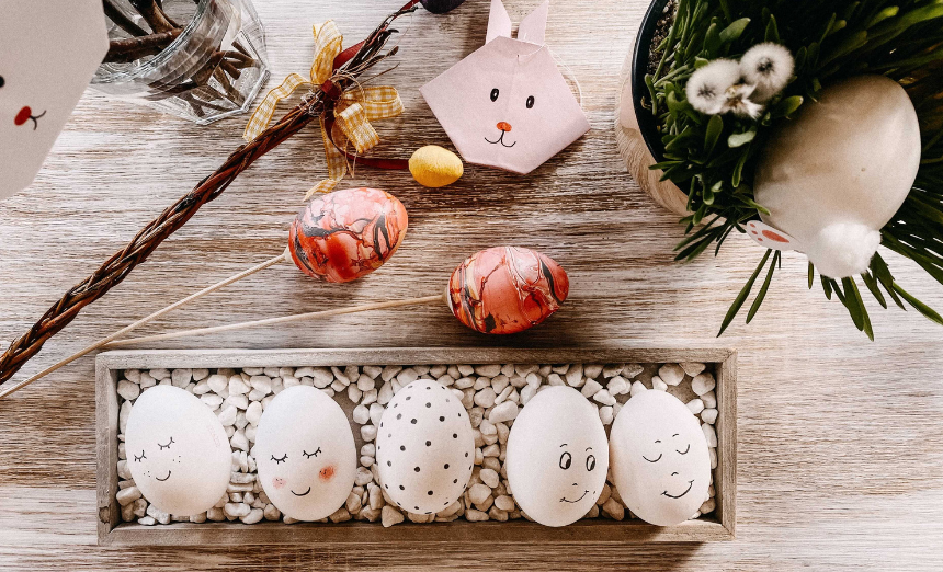 DIY: Velikonoční tvoření i recepty na dobroty z vajec