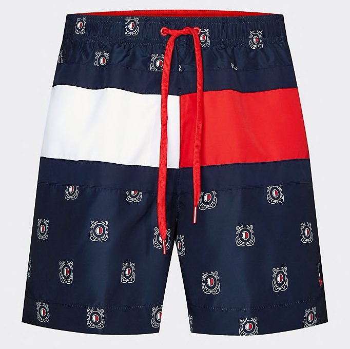 sortkove-plavky-tommy-hilfiger-nautical-flag-um0um01718-0ks1
