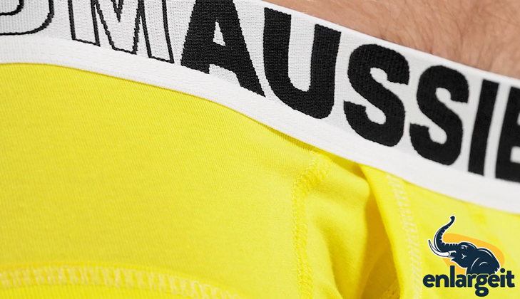 Push Up Slipy AussieBum EnlargeIT Brief Sunshine12