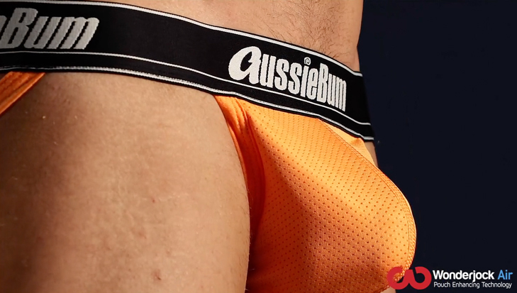 Push-up Jockstrap AussieBum s kapsou Wonder Jock WJ Air Mango14