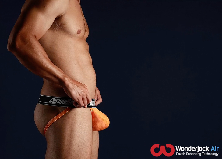 Push-up Jockstrap AussieBum s kapsou Wonder Jock WJ Air Mango15