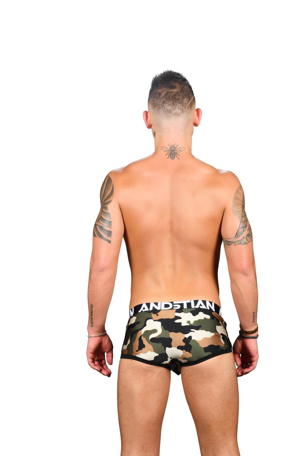 Almost Naked Boxerky ANDREW CHRISTIAN Camouflage Pocket8
