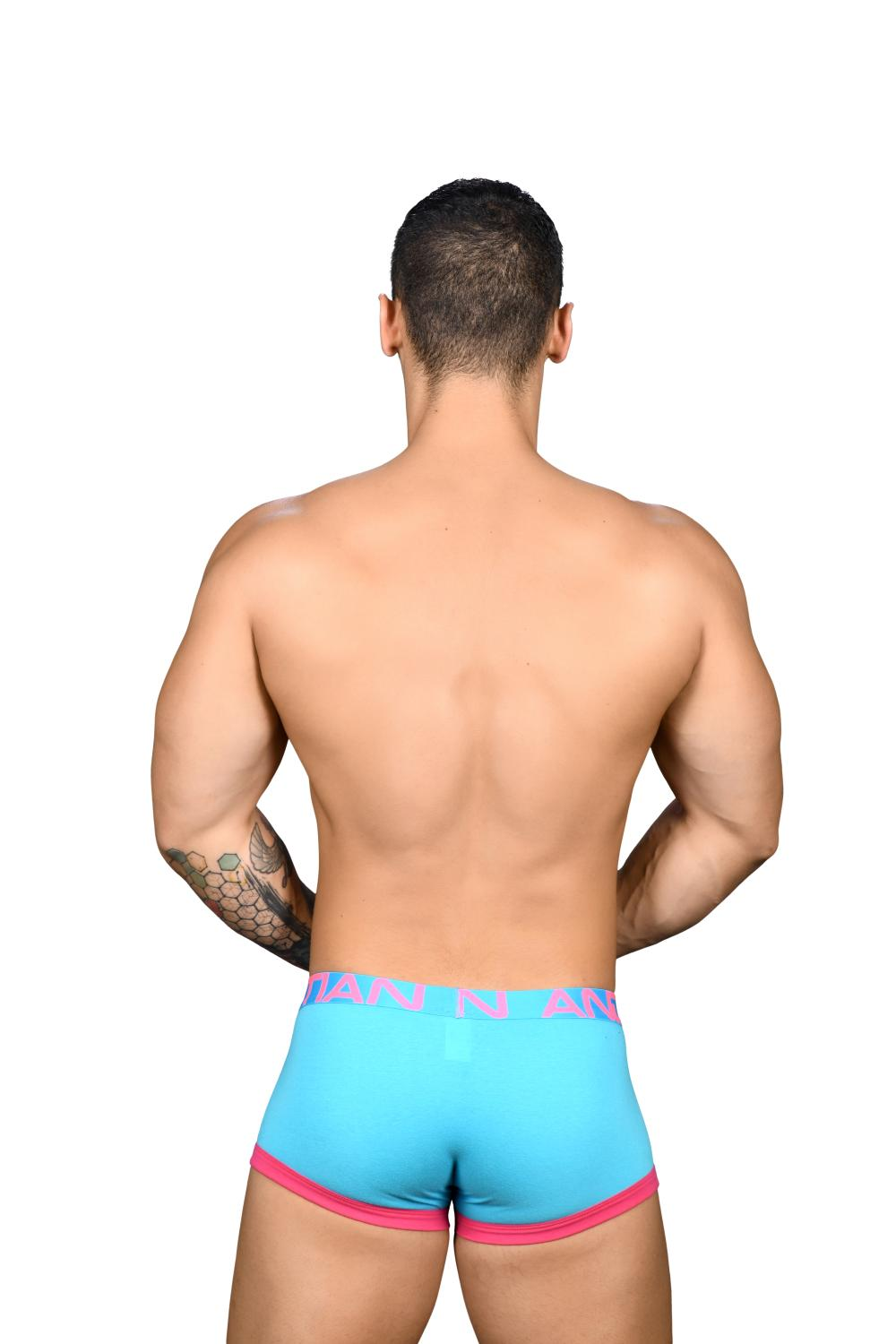 Fly Tagless Boxerky ANDREW CHRISTIAN Almost Naked Aqua11