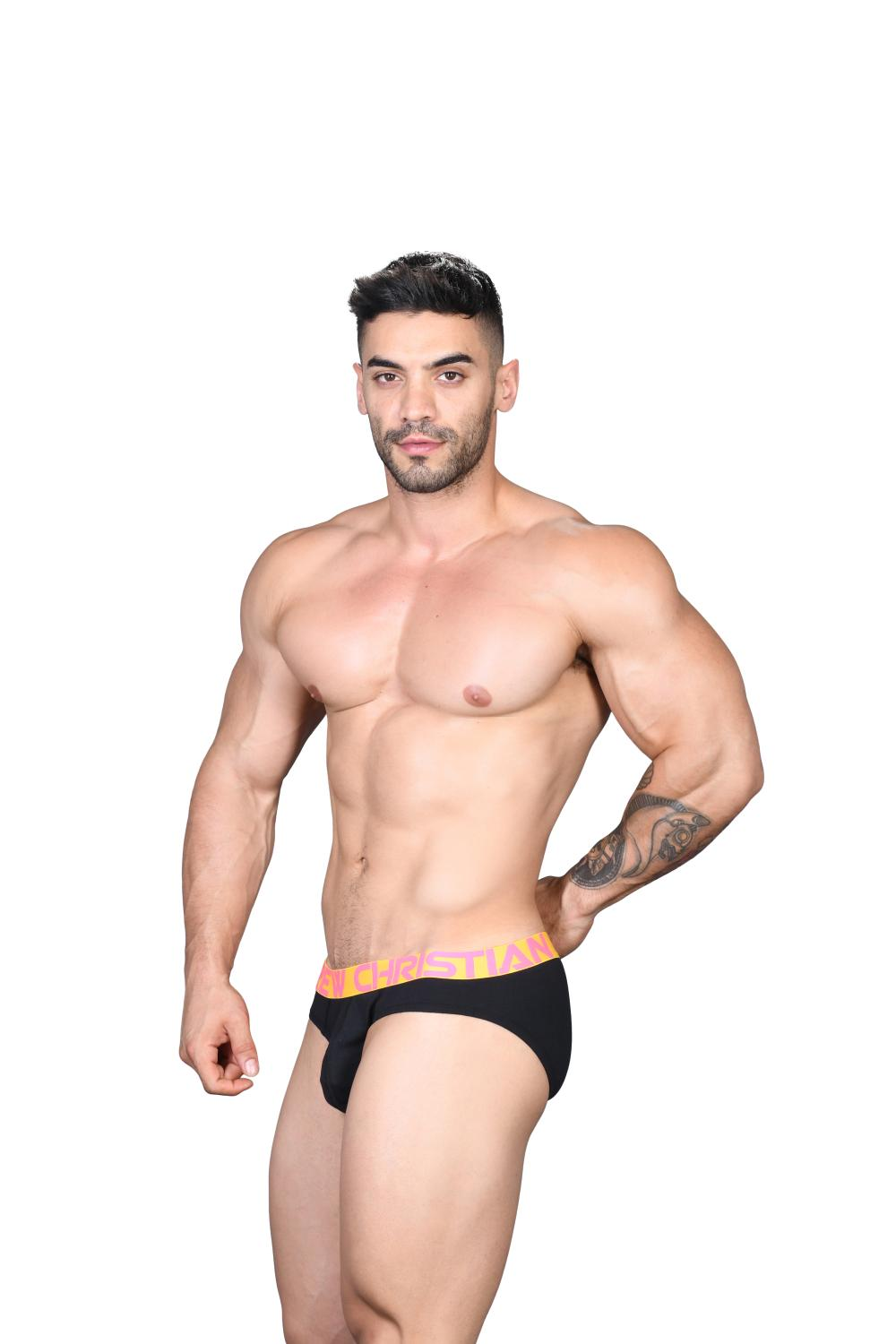Happy Slipy ANDREW CHRISTIAN Almost Naked Black II4