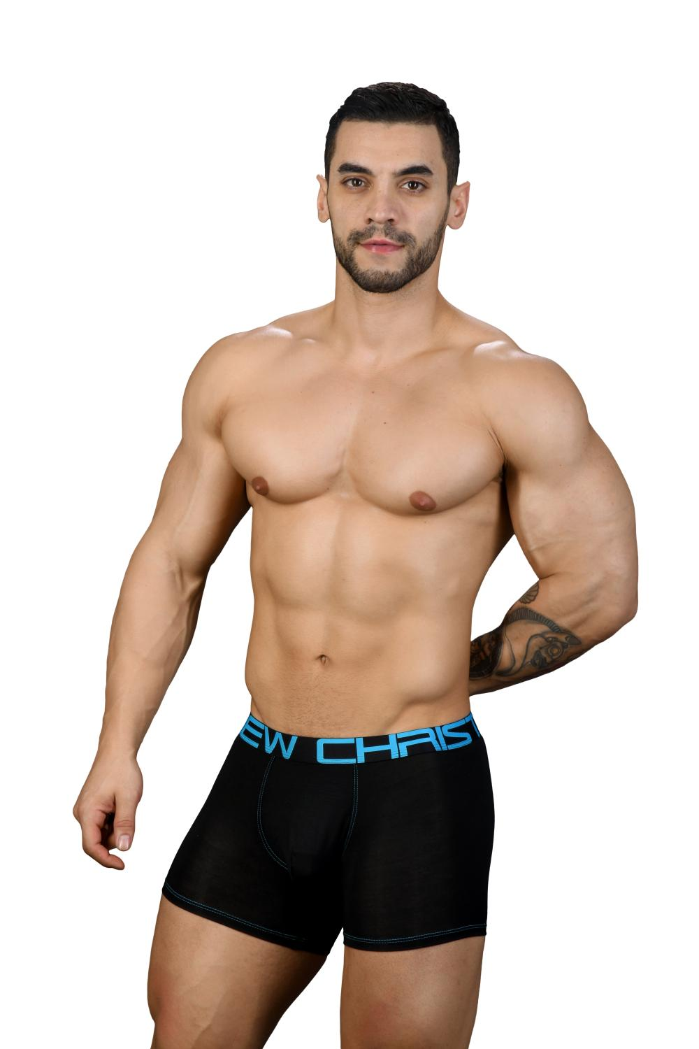 Almost Naked Premium boxerky ANDREW CHRISTIAN Black3