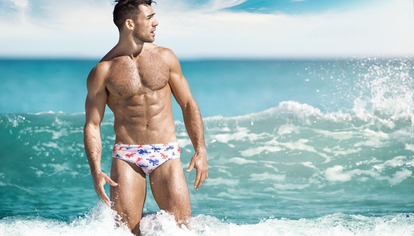 AussieBum slipové plavky World Series LION