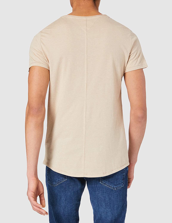 tricko-tommy-hilfiger-jeans-slim-jaspe-dm0dm0-9586-bezova3