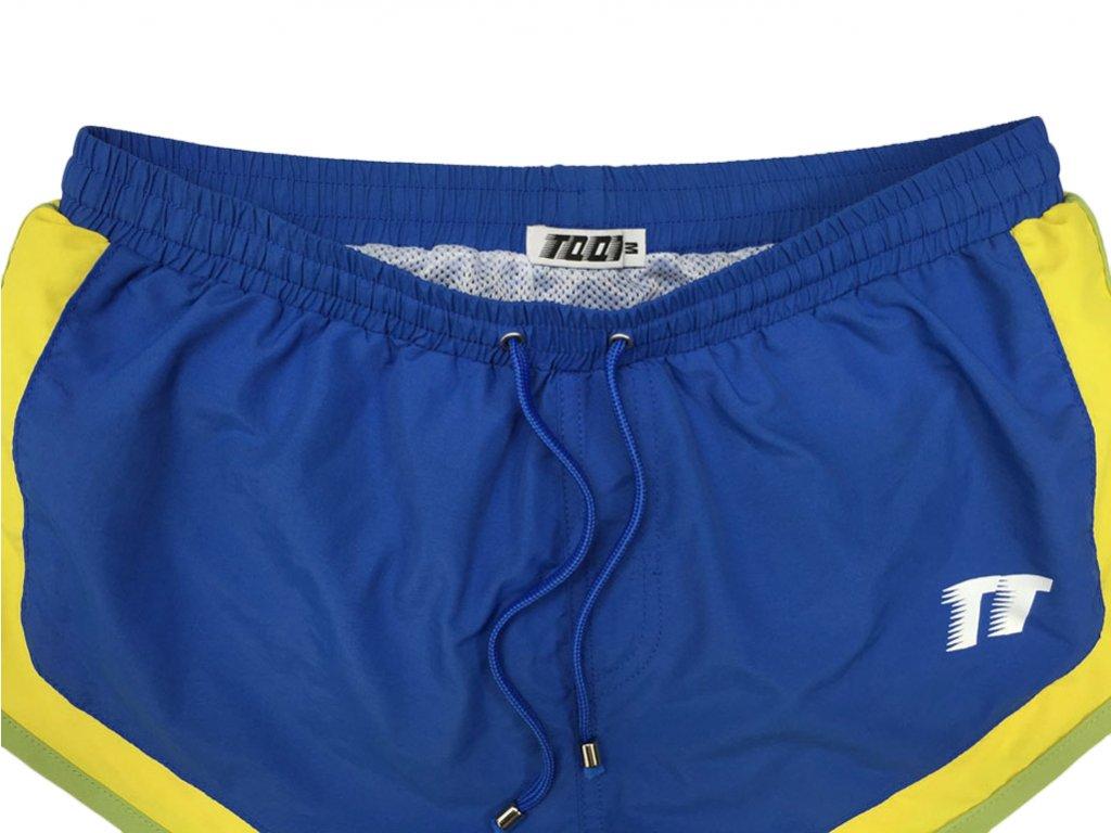 Pánské boxerkové plavky TQQT - Azur Blue
