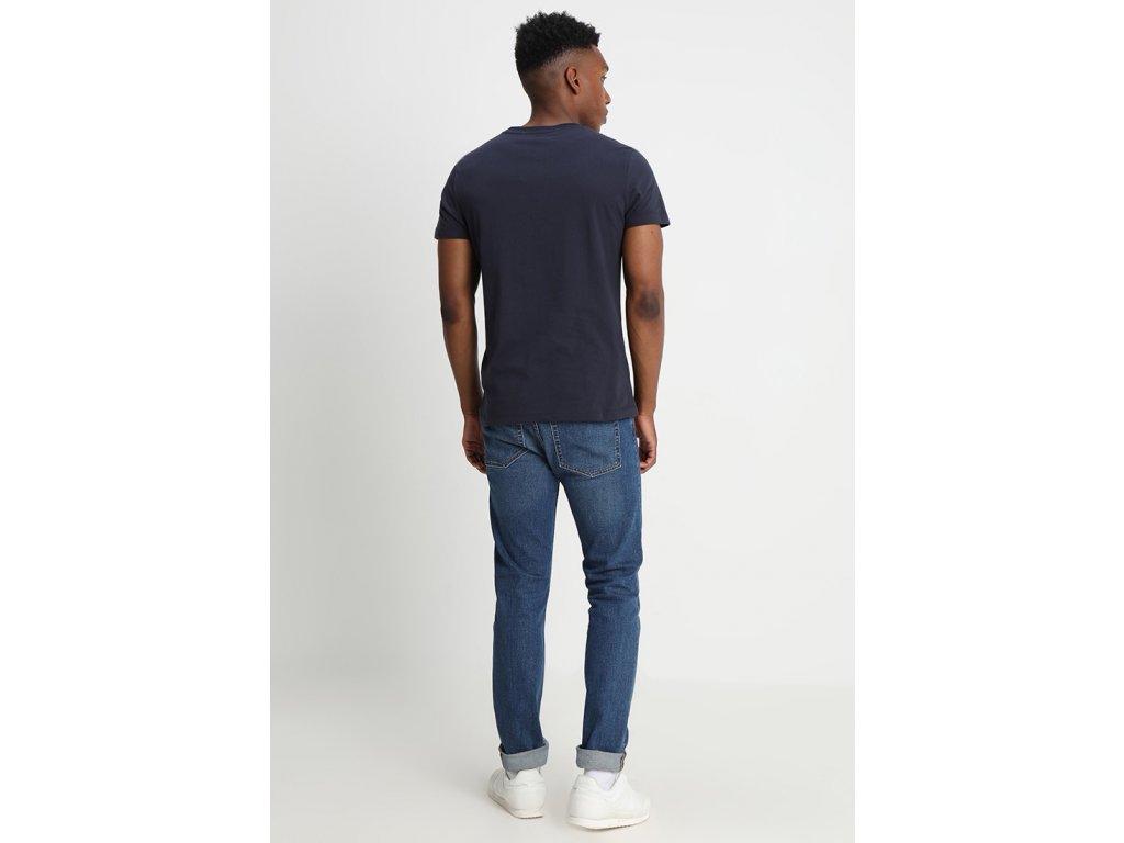 calvin klein jeans core institutional logo tee navy4