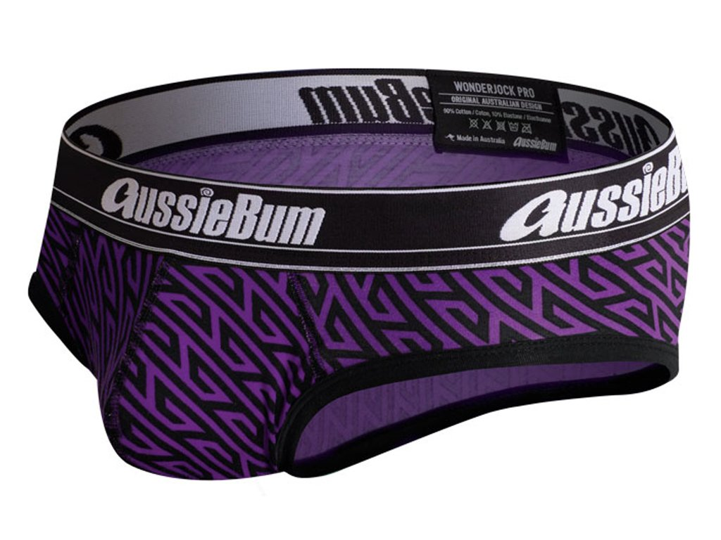 slipy aussiebum s kapsou wonder jock pro geo purple15