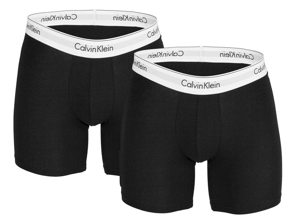 Boxerky Calvin Klein NB1087A 001 Černá (2 balení)
