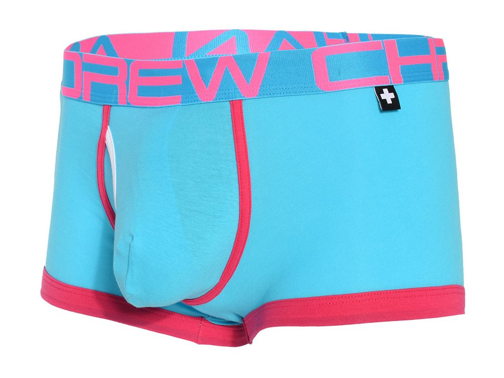 Fly Tagless Boxerky ANDREW CHRISTIAN Almost Naked 91091 Aqua1