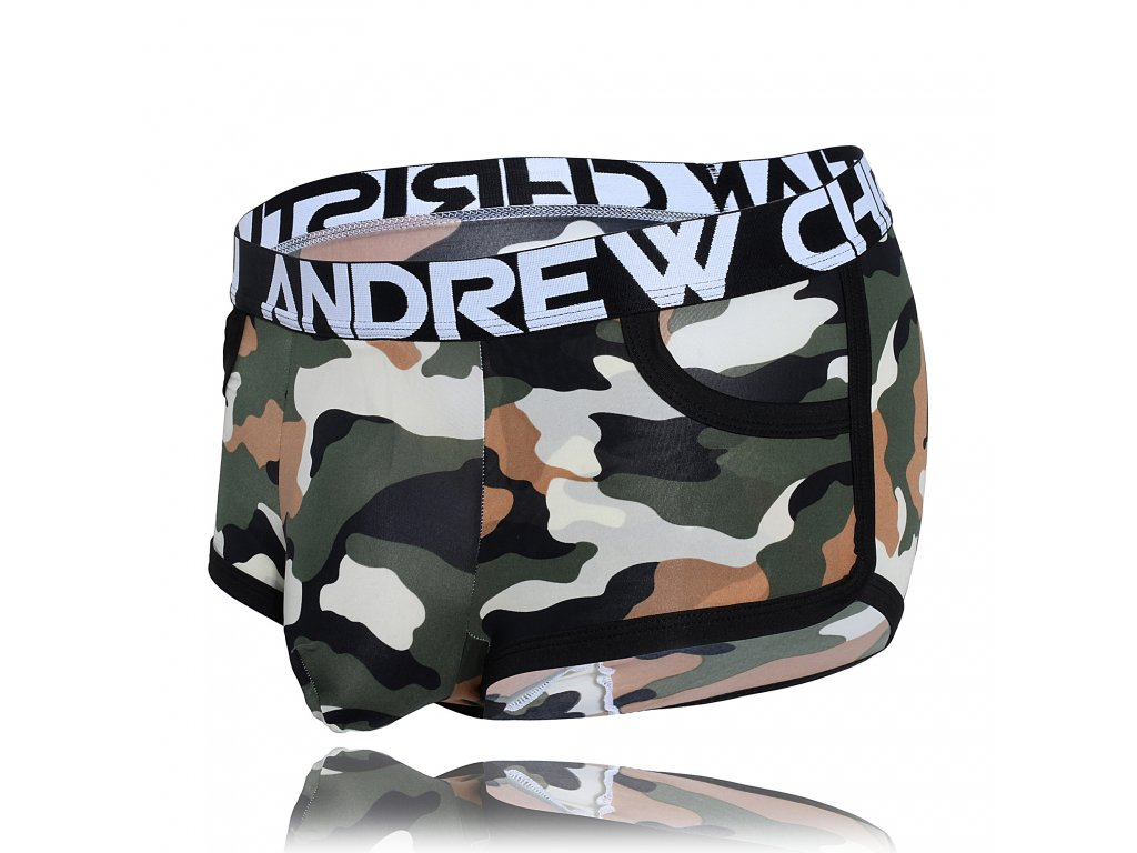 Almost Naked Boxerky ANDREW CHRISTIAN Camouflage Pocket3