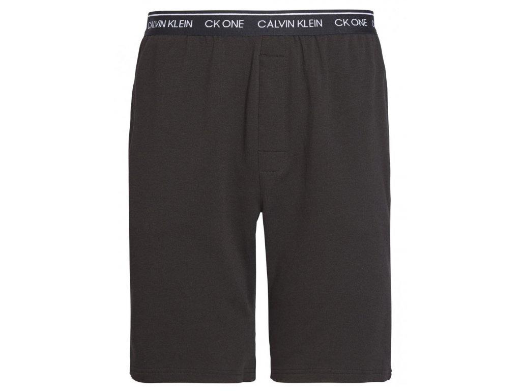Pohodlné domácí šortky Calvin Klein SLEEP SHORT Černá