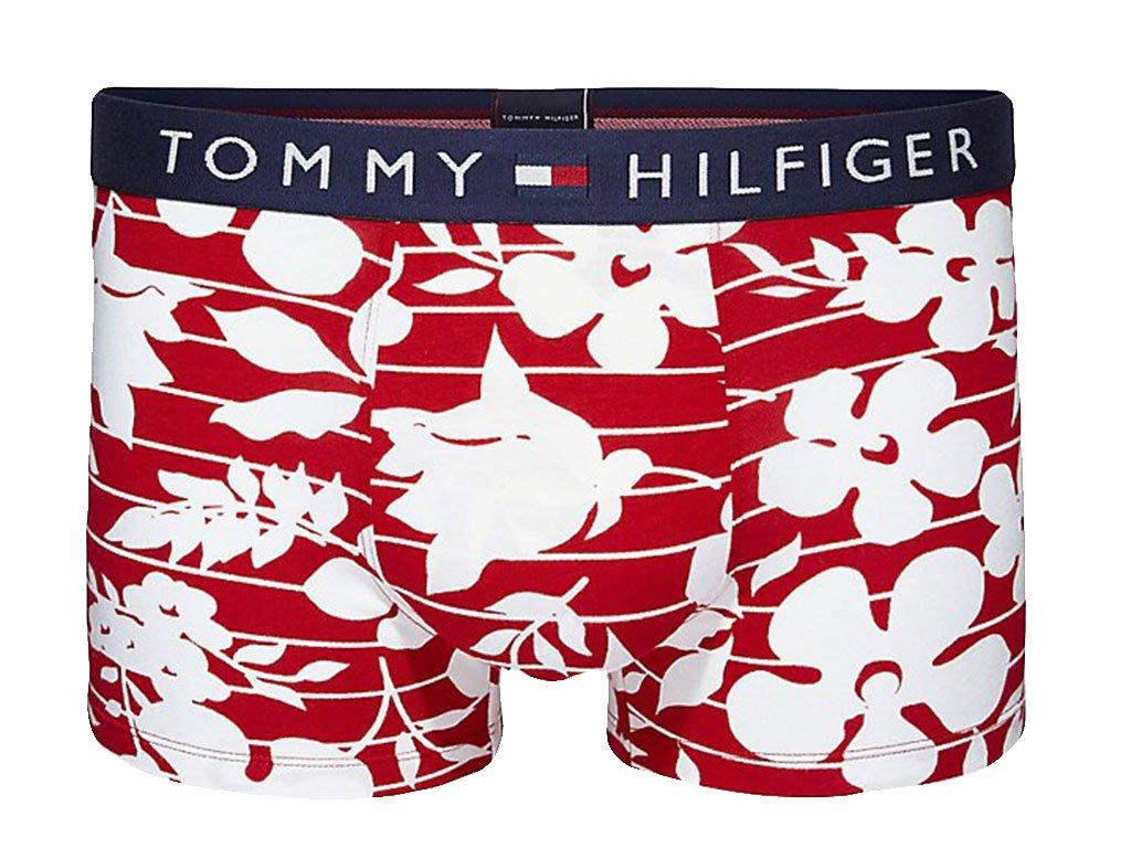 Boxerky Tommy Hilfiger UM0UM01379 611 Flowers PRINT Red