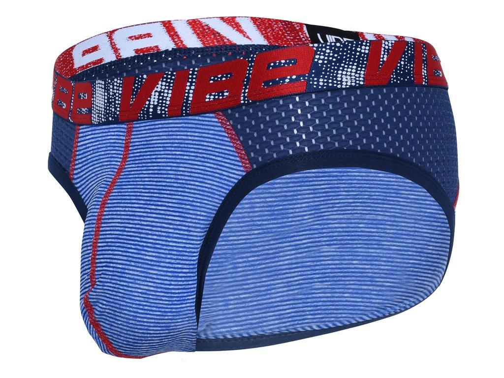 vibe stripe sports mesh slipy andrew christian 91849 navy white23
