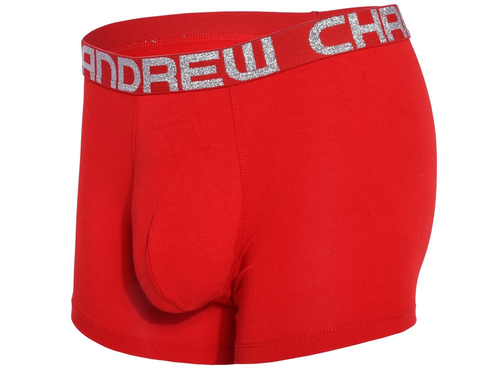 Almost Naked Bamboo boxerky ANDREW CHRISTIAN 91895 Red1