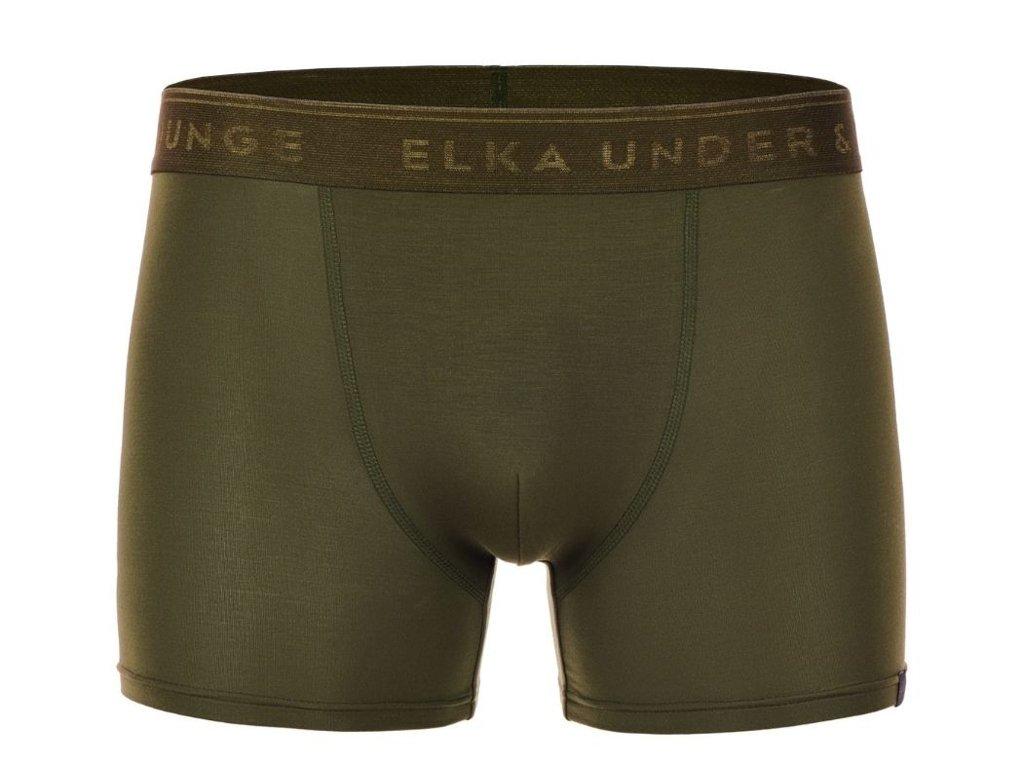 boxerky z micromodalu elka premium pb0054 khaki1