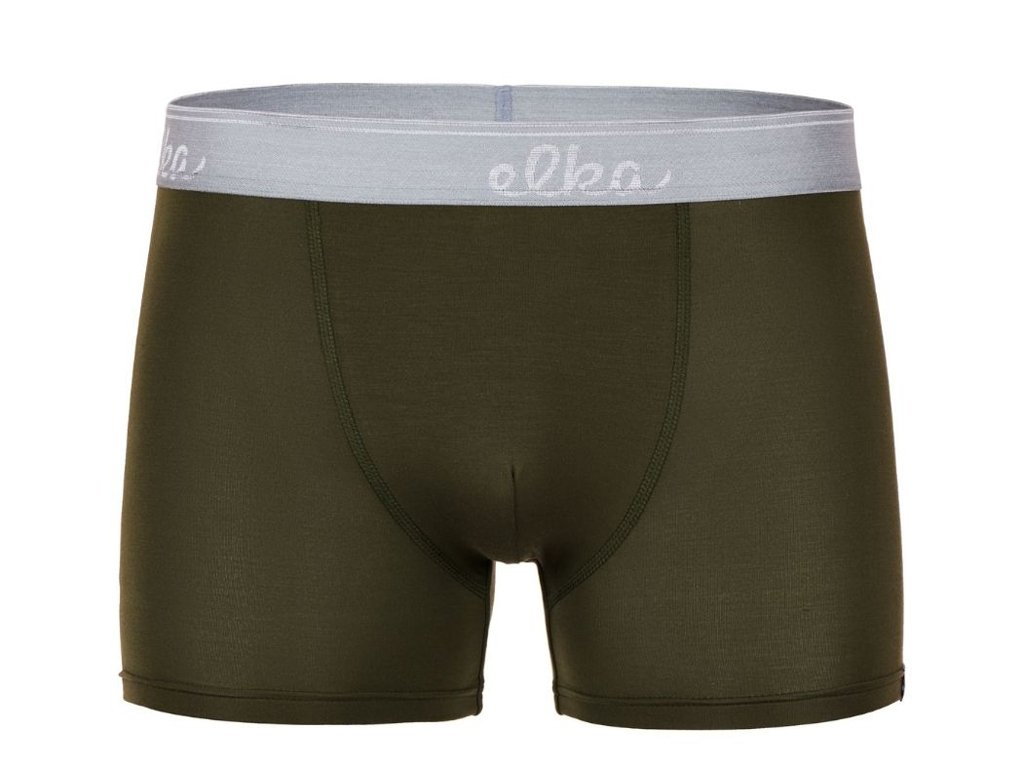boxerky z micromodalu elka premium pb0064 khaki3