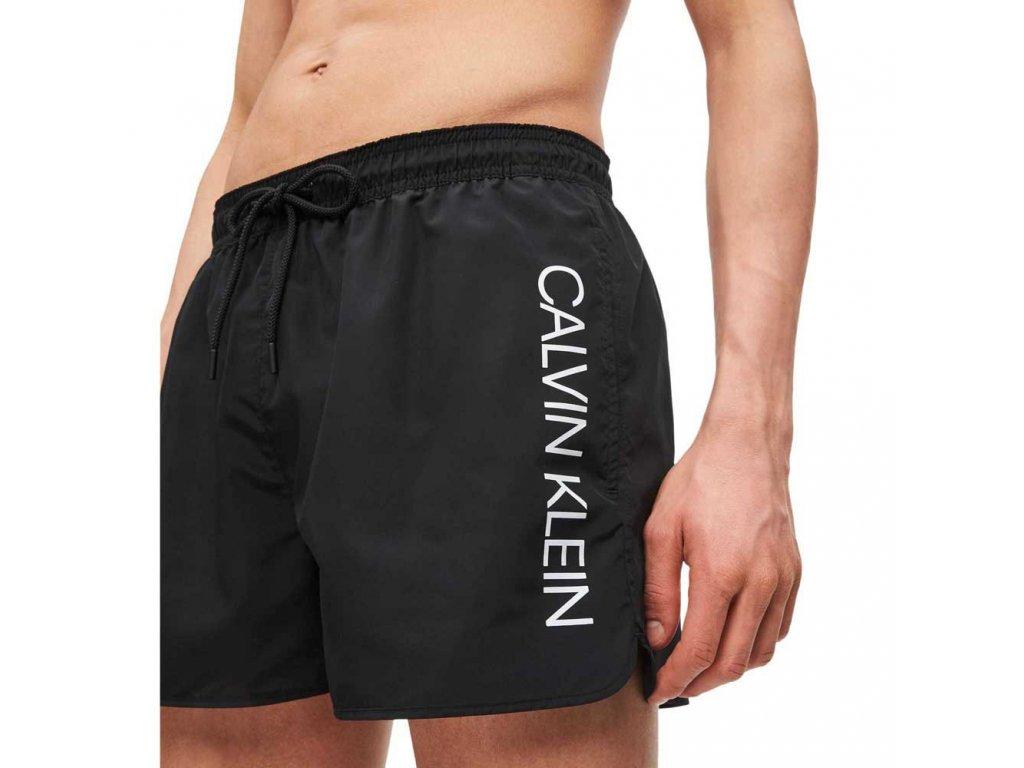 Šortkové plavky CALVIN KLEIN drawstring KM0KM002662