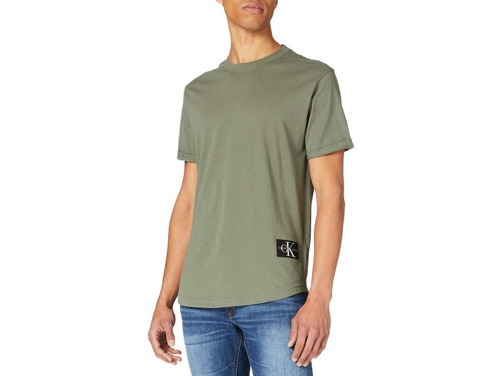 2tricko calvin klein jeans j30j315319 ldt zelena