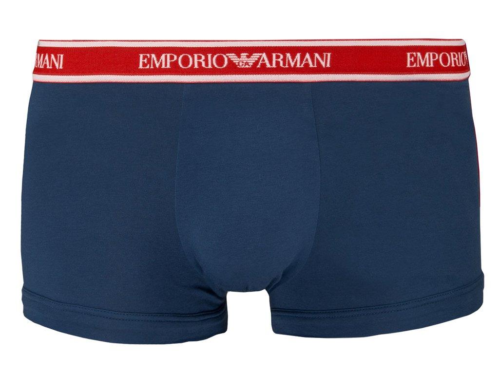 emporio armani boxerky stretch cotton 111357 9p717 modra1