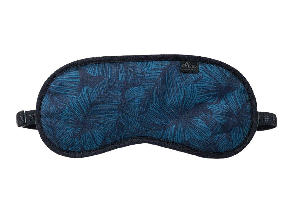 maska-na-spani-elka-lounge-blue-leaves