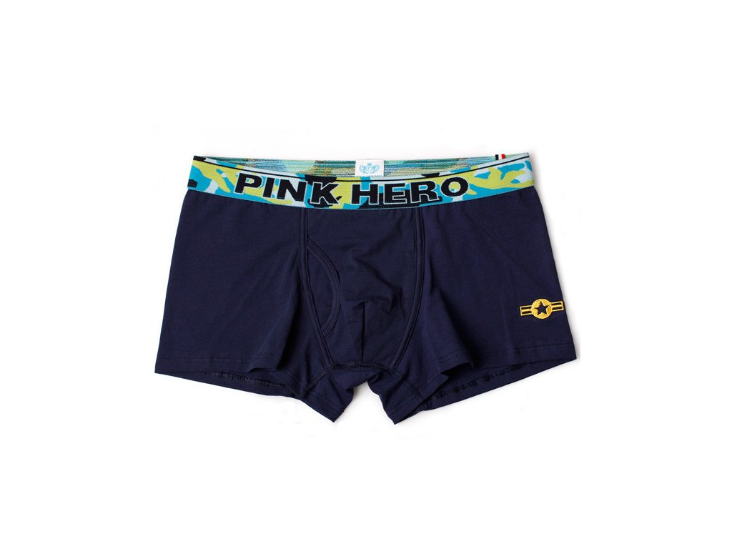Heroes Army boxerky PINK HERO Navy blue 3